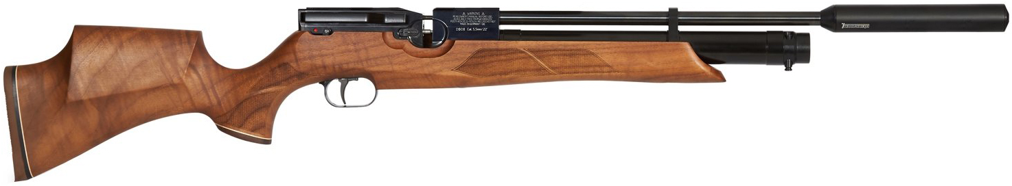 HW100 Walnut Sporter Premier Air Rifle STANDARD