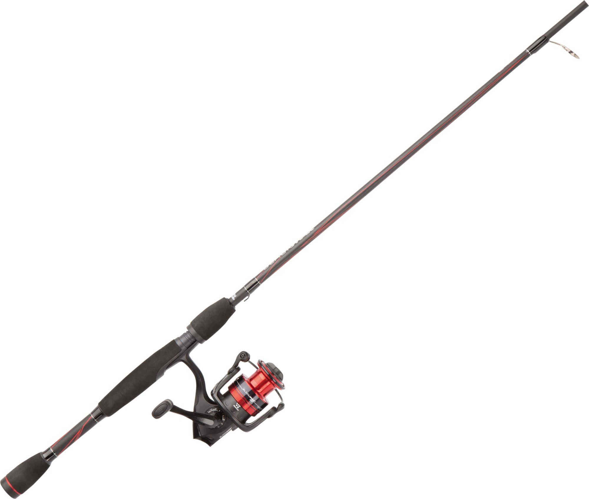 Abu garcia black max spin combo glasgow angling centre for Fishing rods at walmart