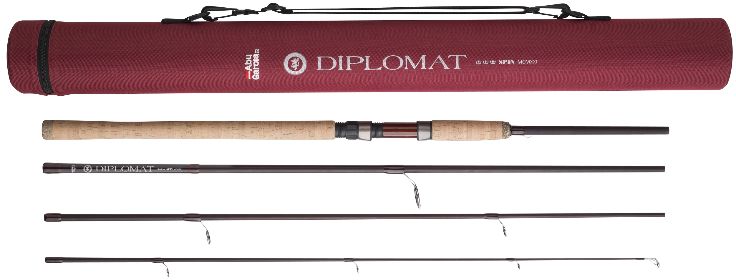 Abu garcia diplomat spinning glasgow angling centre for Garcia fishing pole