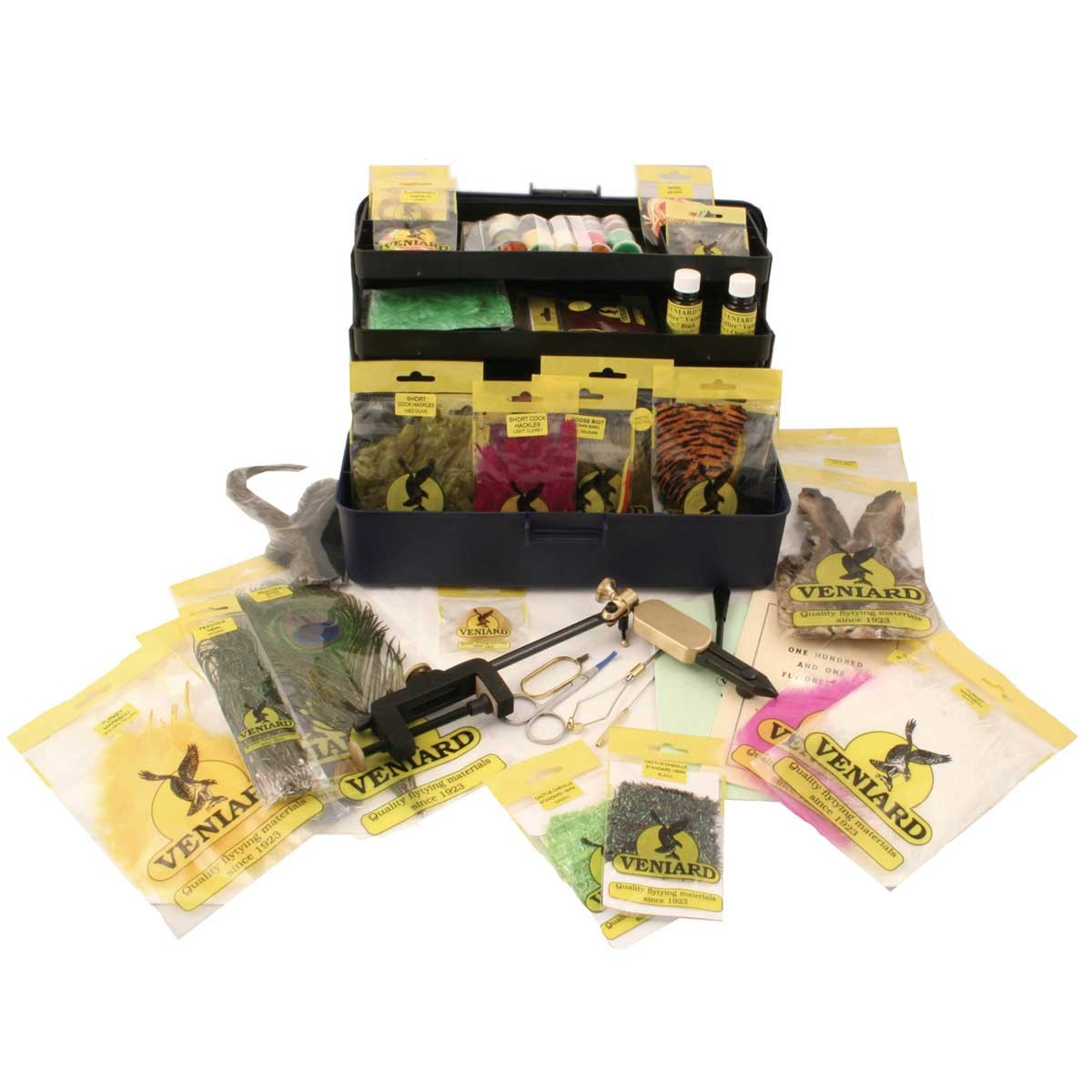 Airflo fly tying kit 3 glasgow angling centre for Fishing starter kit