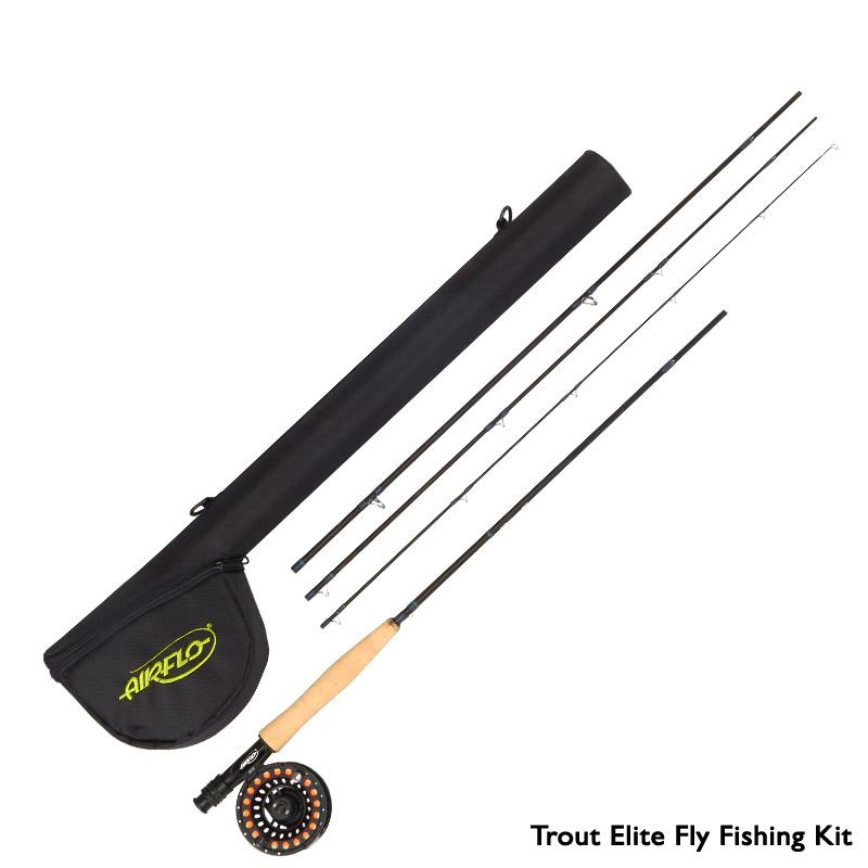 airflo elite fly fishing kit glasgow angling centre