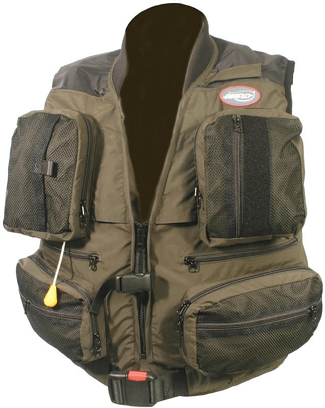 Airflo wavehopper inflatable fly vest glasgow angling centre for Inflatable fishing vest