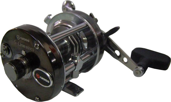 Akios s line left hand series reels glasgow angling centre for Left handed fishing reels