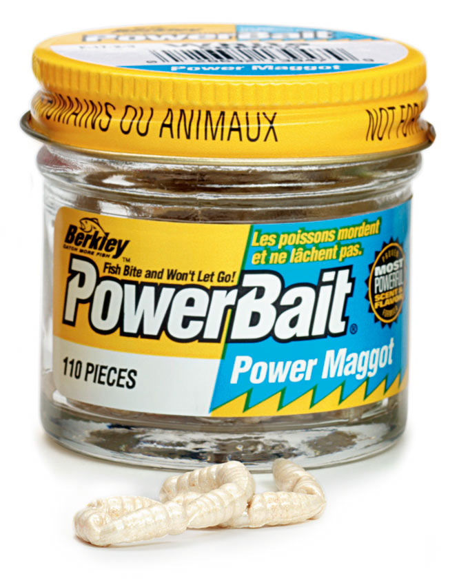 Berkley powerbait micro power maggots glasgow angling centre for Fishing with powerbait