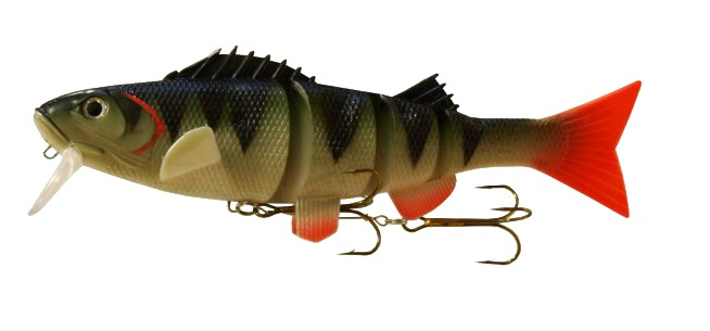Bobcat mag perch 10in swimbait glasgow angling centre for Yellow perch fishing rigs
