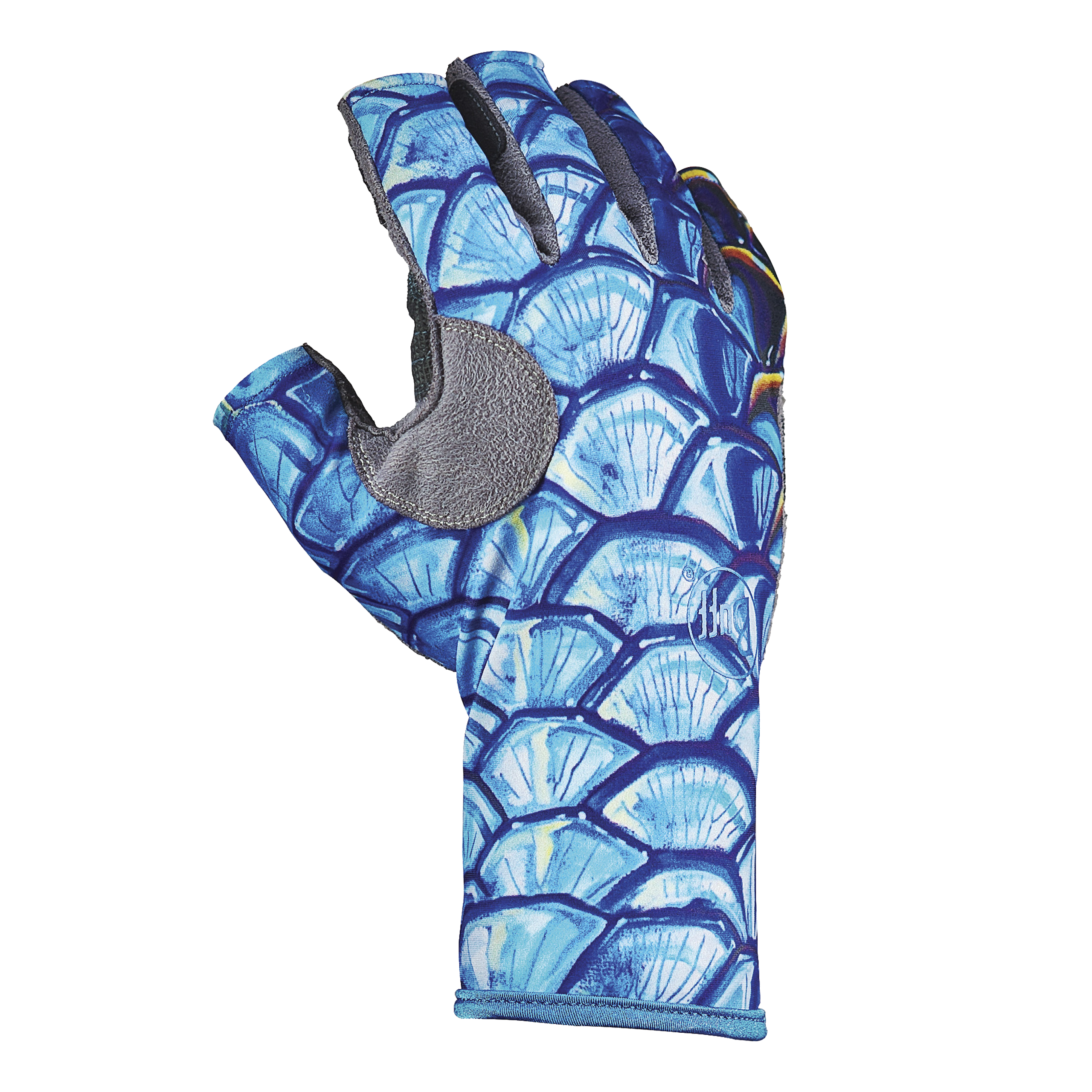 Buff angler iii gloves glasgow angling centre for Fishing sun gloves