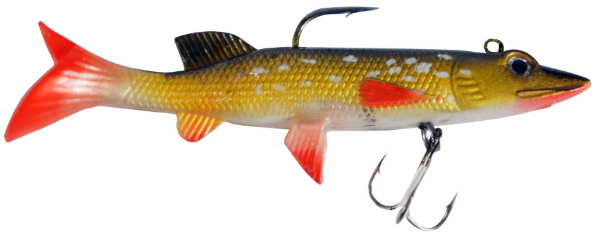 Cjt for real lures glasgow angling centre for Pike ice fishing lures