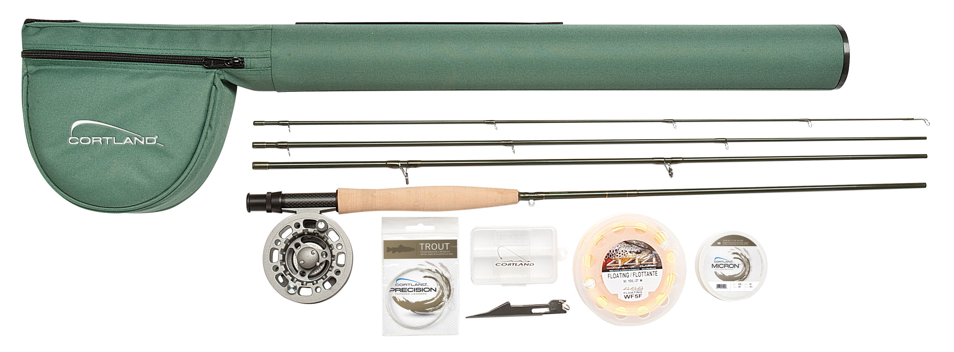 Cortland 444 Fly Fishing Kit Glasgow Angling Centre
