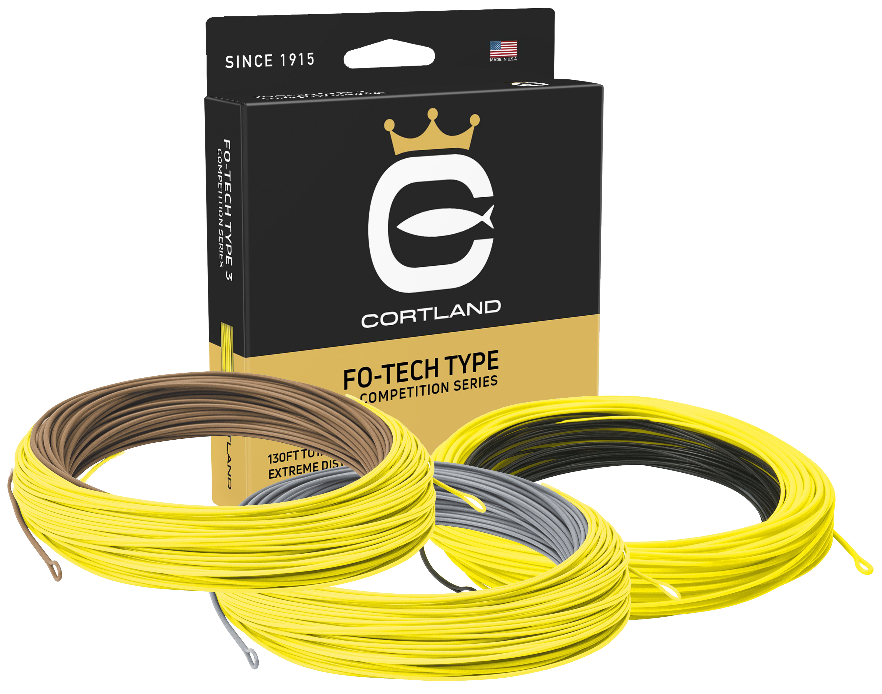Cortland Competition Fo-Tech Type 3/5/7 Intermediate Fly Lines ...