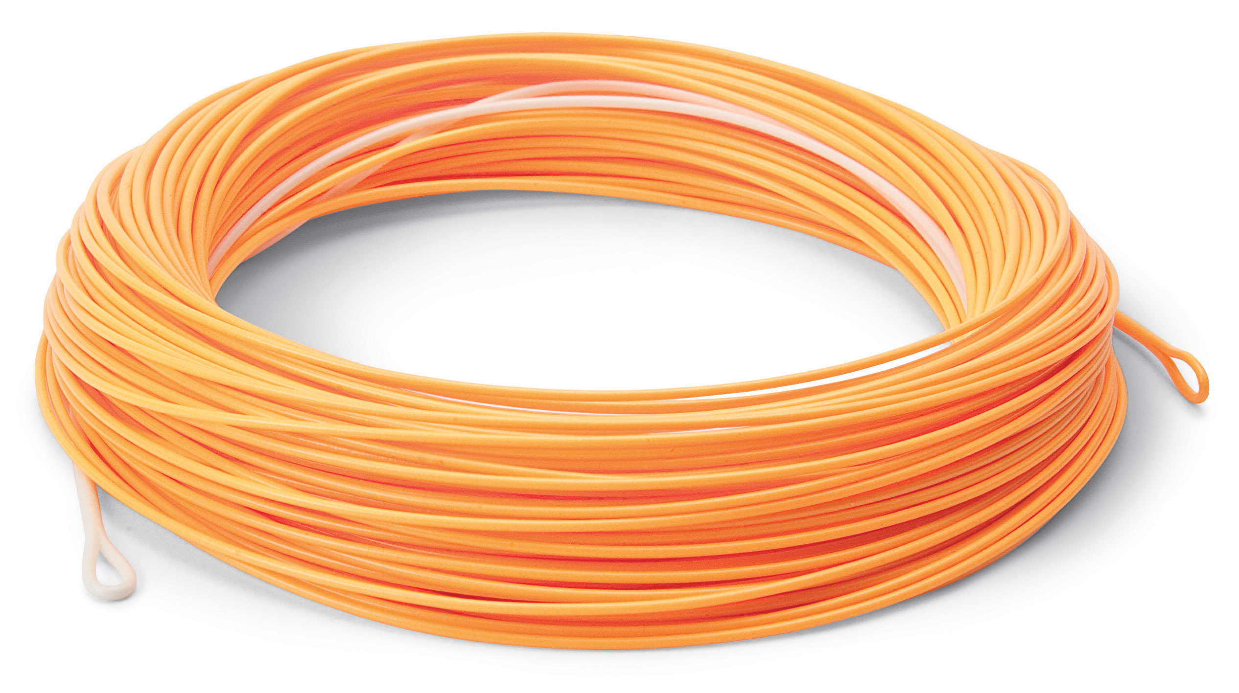 Cortland precision trout boss dyna tip 100 39 fly lines for Orange fishing line