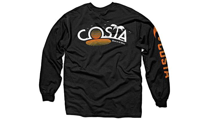Costa del mar castaway long sleeve t shirt glasgow for Costa fishing shirt