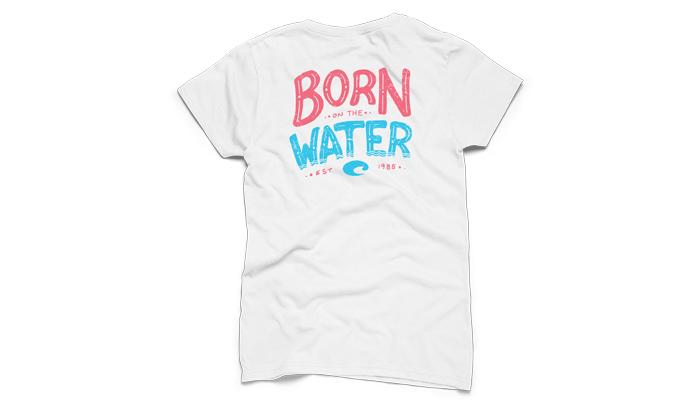 Costa del mar maddison short sleeve ladies t shirt for Costa fishing shirt