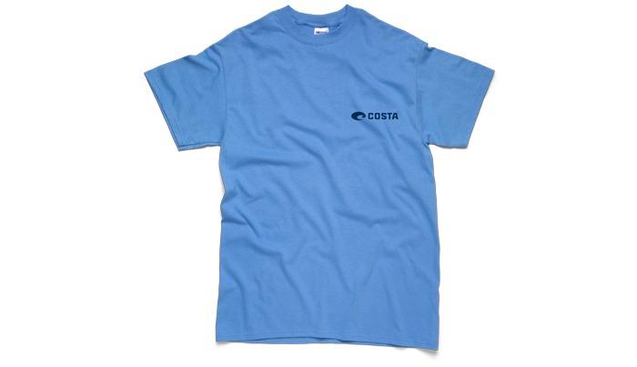 Costa del mar sunglass sailfish t shirt short sleeve for Costa fishing shirt