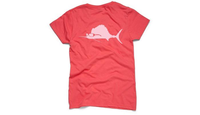 Costa del mar sunglass sailfish ladies t shirt s s for Costa fishing shirt