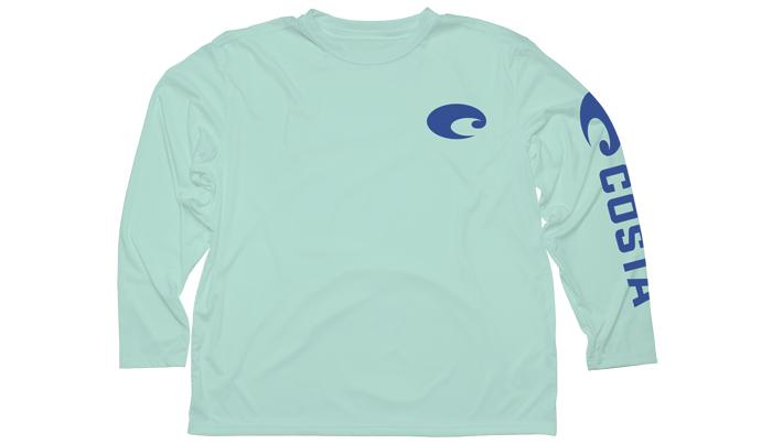 Costa del mar technical core long sleeve t shirt glasgow for Costa fishing shirt