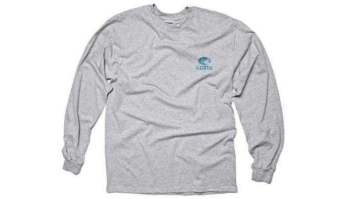 Costa del mar world sailfish t shirt l s glasgow angling for Costa fishing shirt