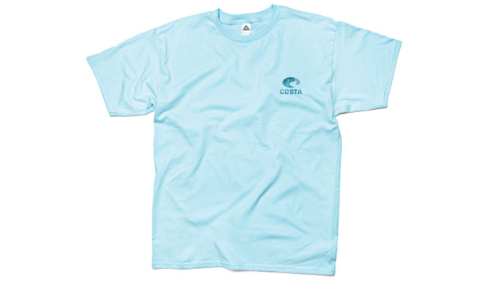 Costa del mar world sailfish t shirt short sleeve for Costa fishing shirt