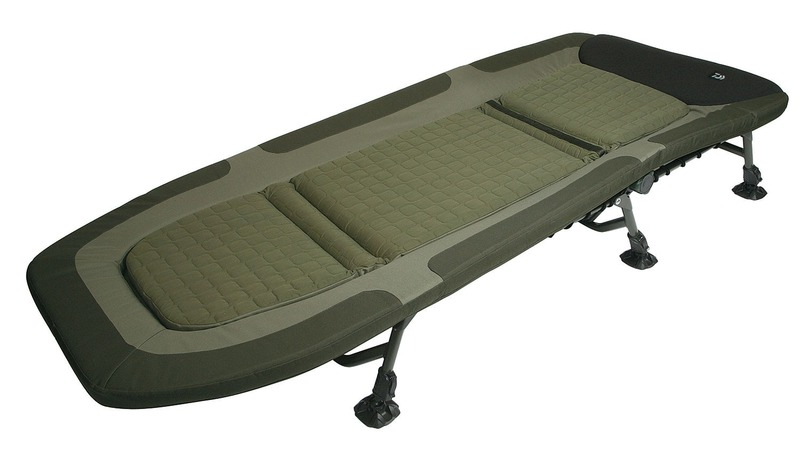 Daiwa Infinity Sleepeezy Bedchair Glasgow Angling Centre