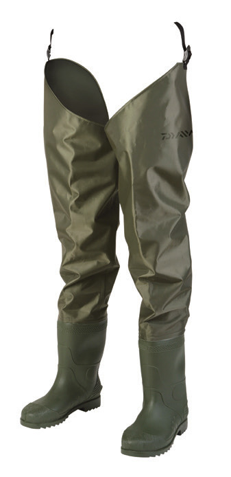 Daiwa nylon hip waders glasgow angling centre for Hip boots for fishing