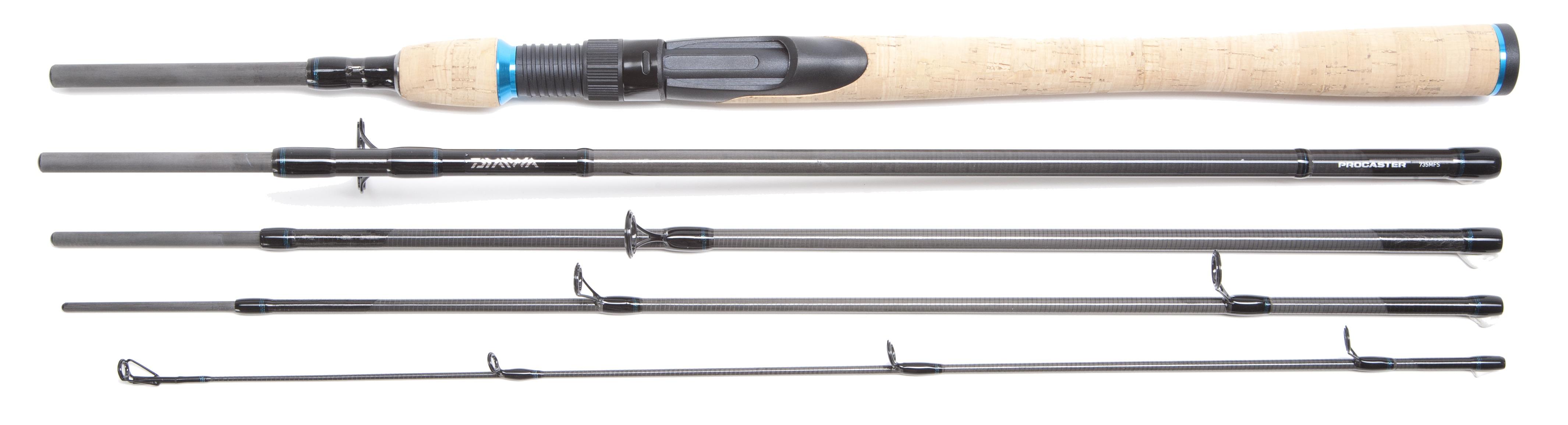 Daiwa procaster s travel spinning rod series glasgow for Daiwa fishing pole