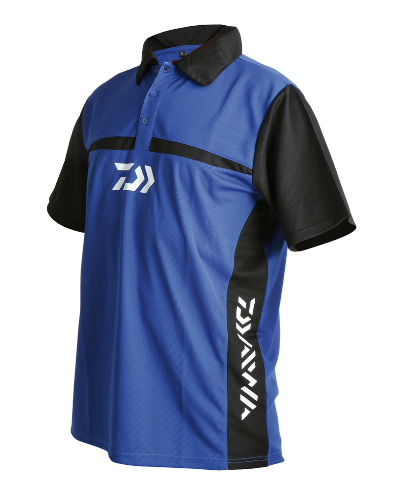 Daiwa team polo shirt glasgow angling centre for Fishing team shirts