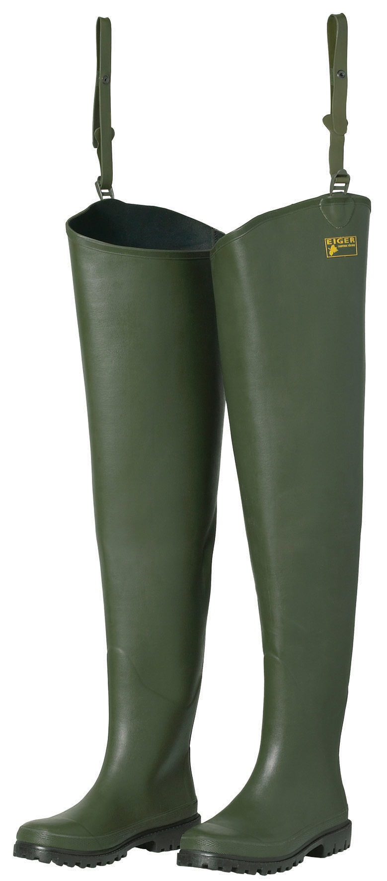 Eiger neoprene lined thigh waders glasgow angling centre for Fishing waders with boots
