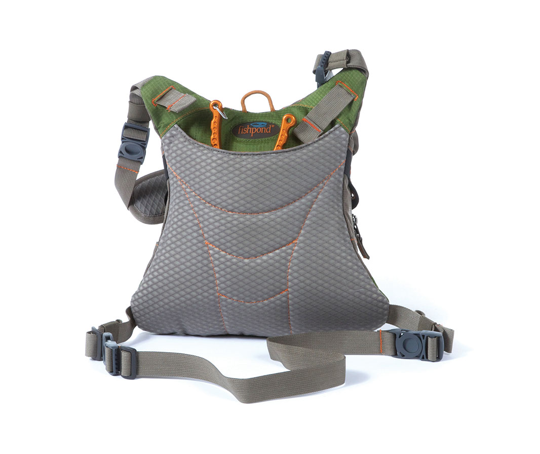 Fishpond Savage Creek Chestpack Cutthroat Green Glasgow Angling Centre