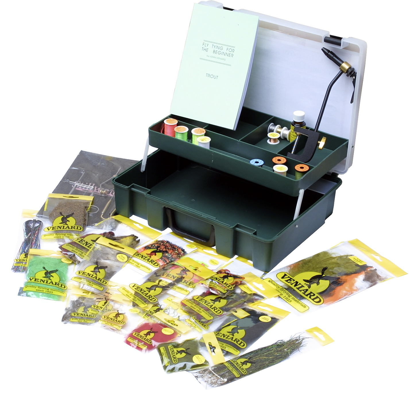 veniard complete fly tying kit glasgow angling centre