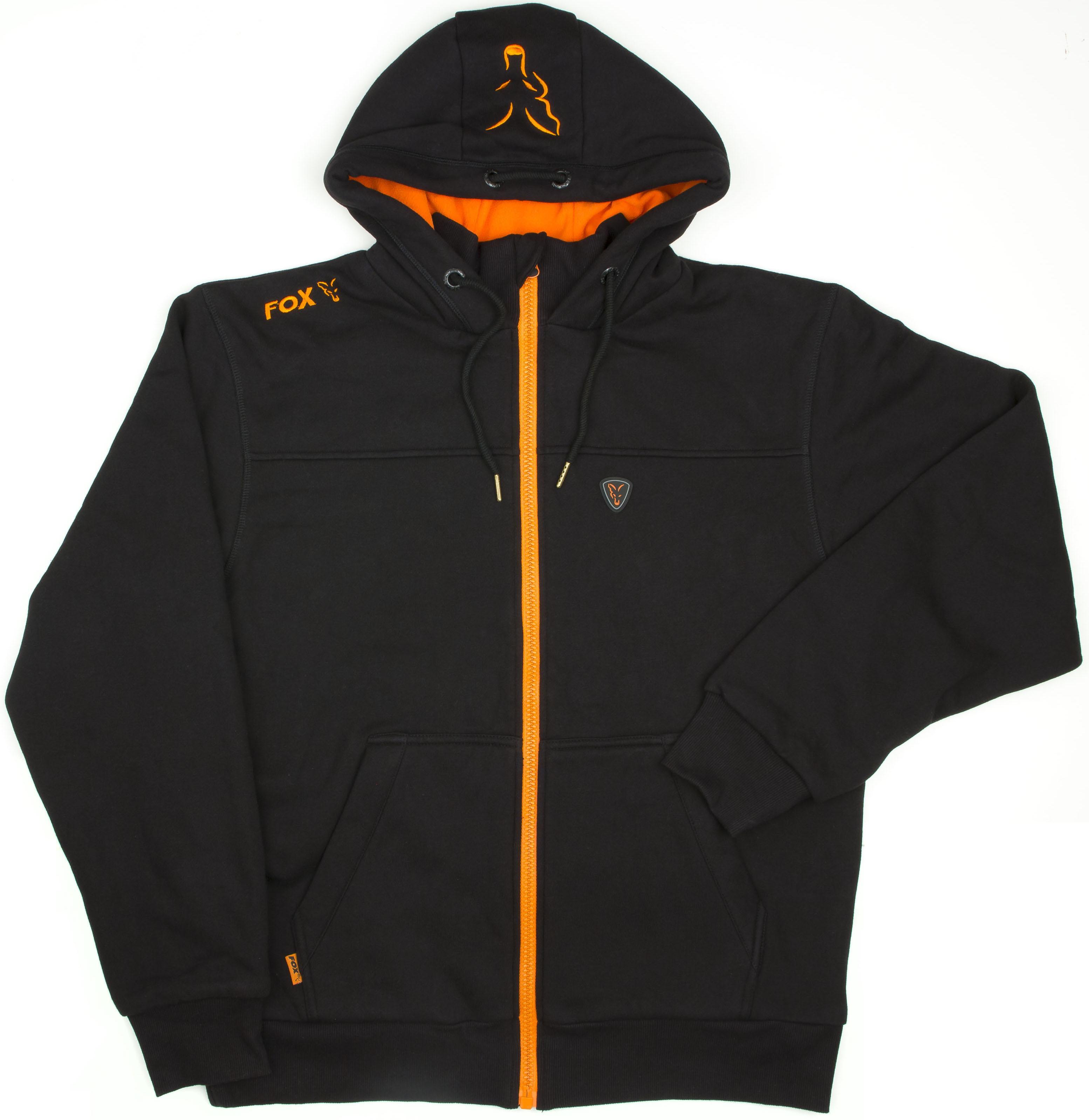 Orange fox hoodie