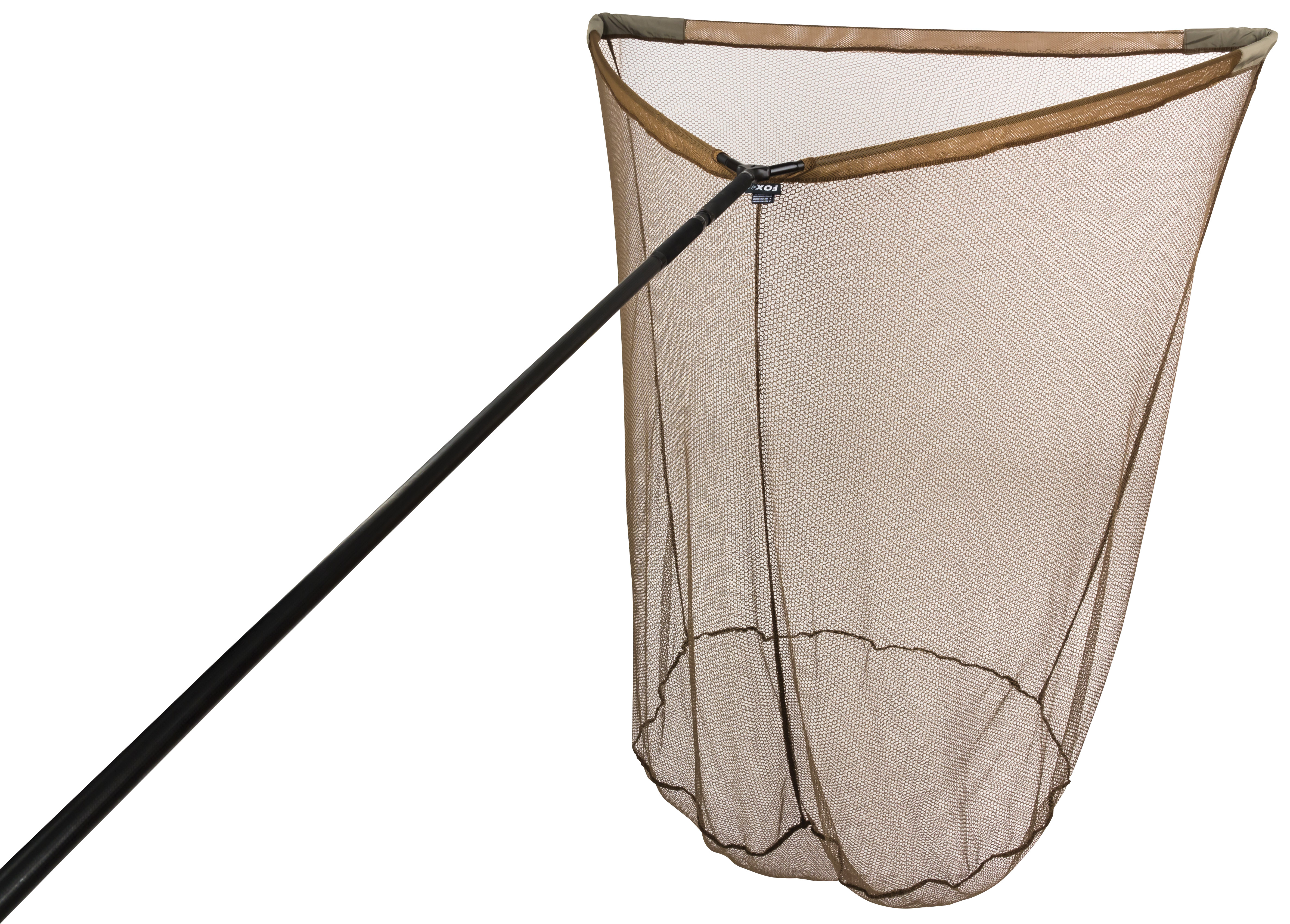Fox torque landing nets glasgow angling centre for Fishing landing net