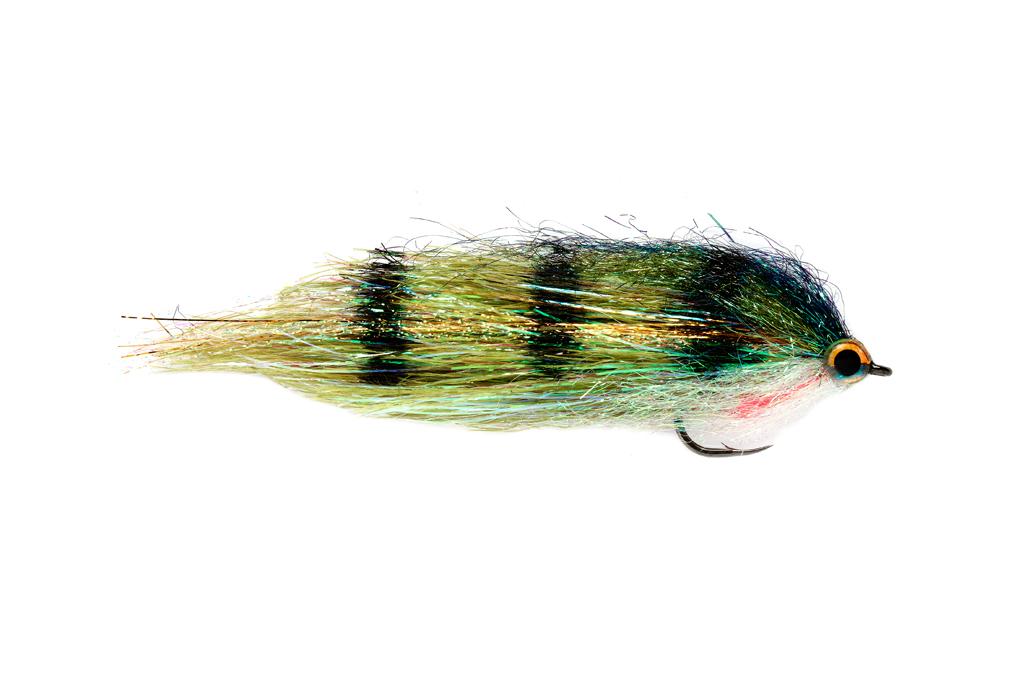 3 Delta Pike Zander Flies Size 6//0 or 4//0