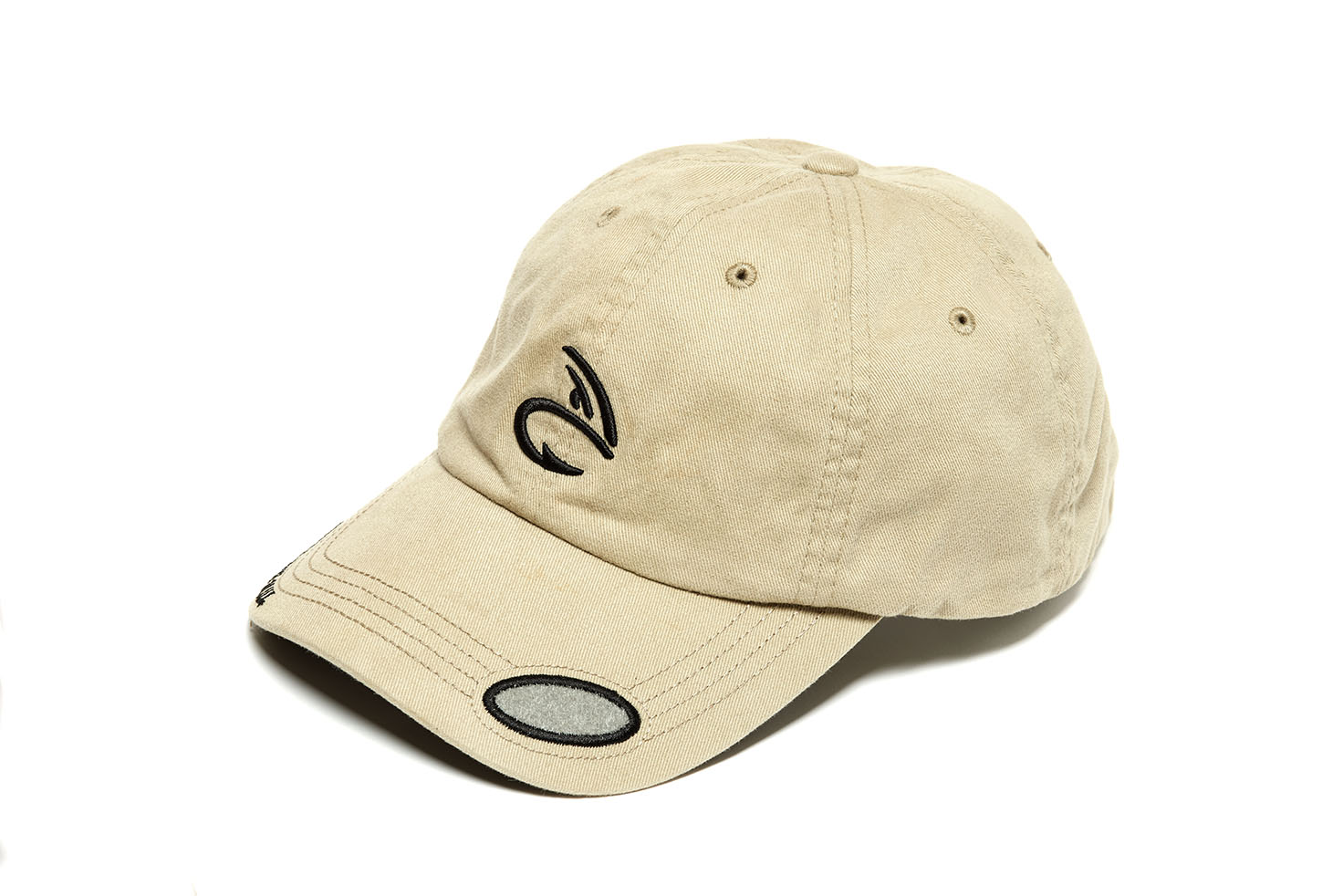 Fulling mill fm fly patch cap khaki glasgow angling centre for Fishing ball caps