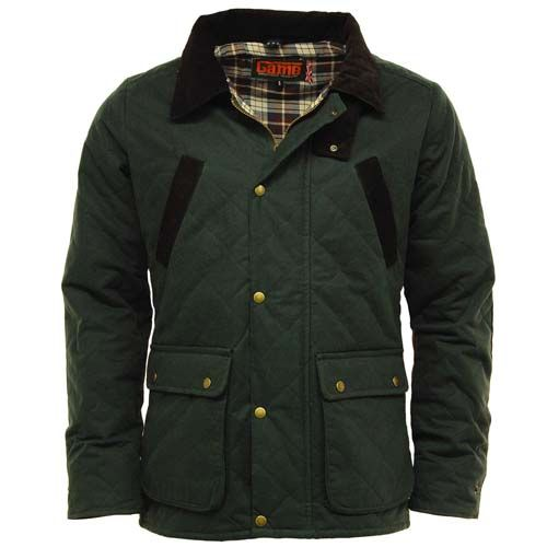 3eeff7127ea6b Game Oxford British Made Quilted Wax Jacket – Glasgow Angling Centre