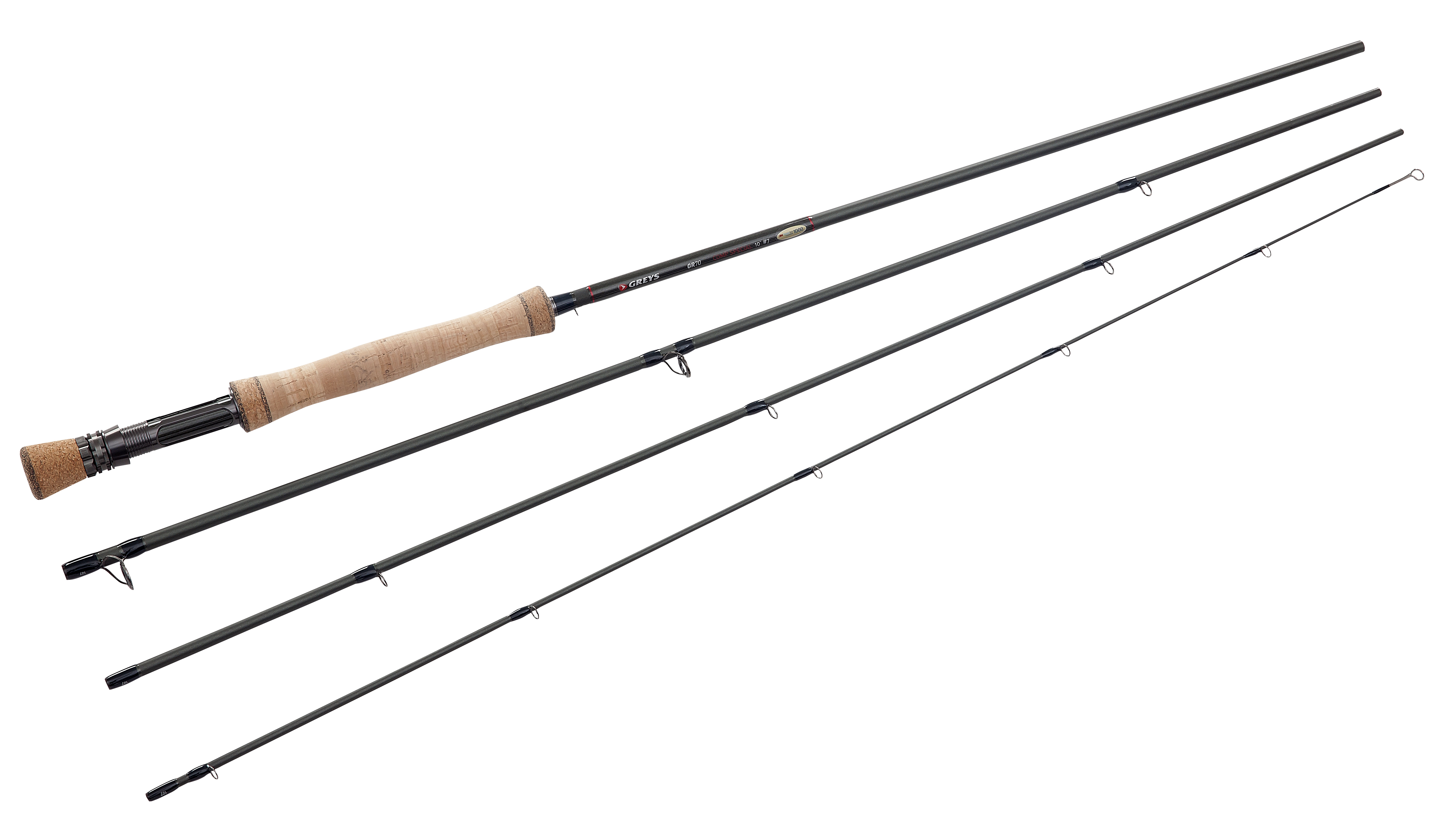 Greys gr70 comp special powerlux single hand fly rods for Fly fishing stores