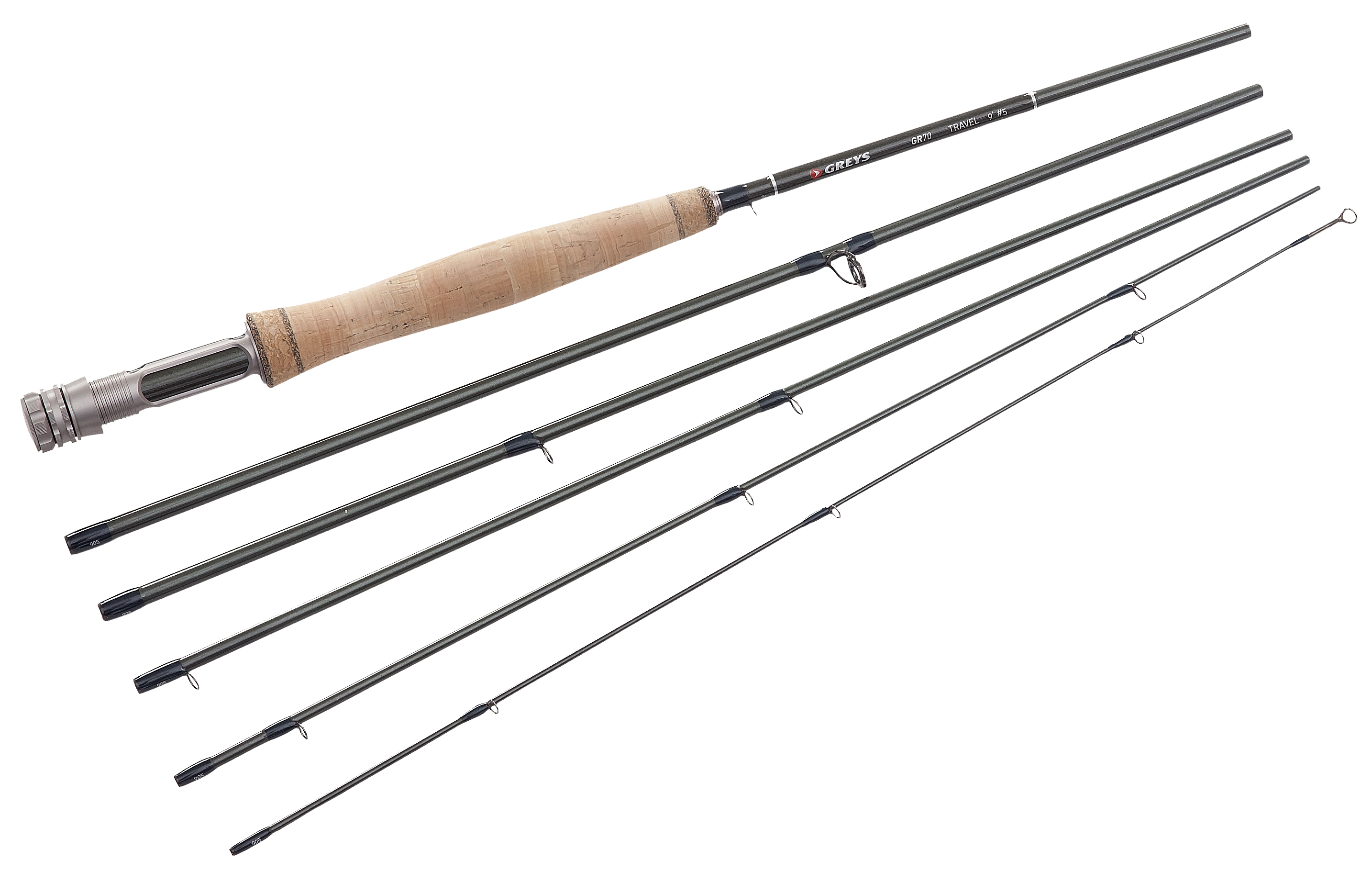 Greys gr70 single hand travel fly rod glasgow angling centre for Fly fishing with spinning rod
