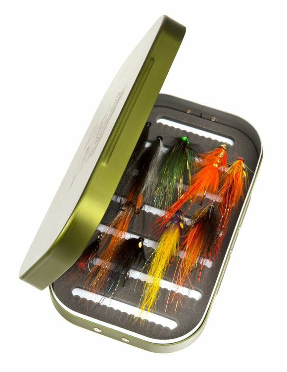 Guideline gl salmon fly kit 12 flies glasgow angling for Fly fishing kits