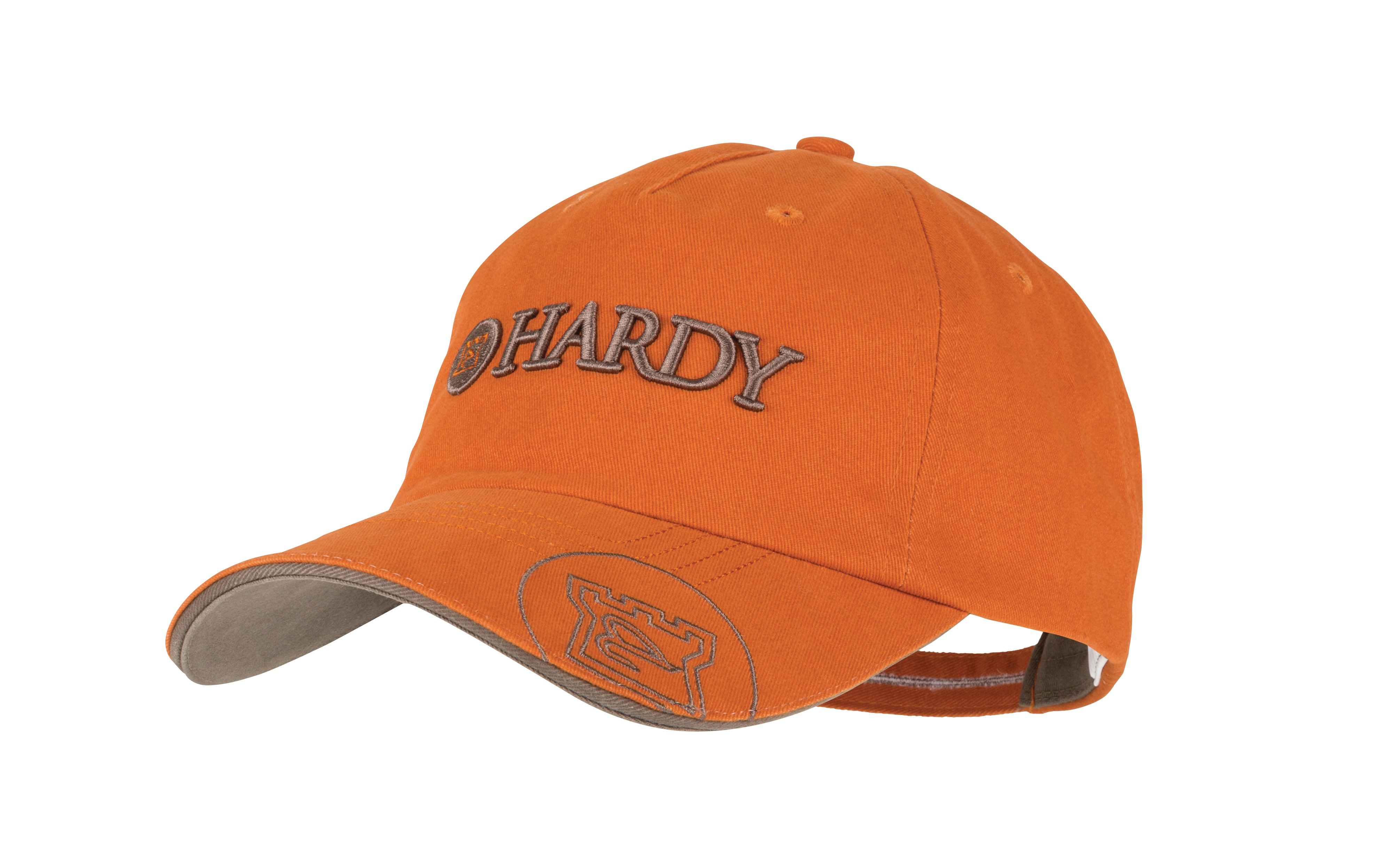 Hardy logo classic hat glasgow angling centre for Fishing logo hats