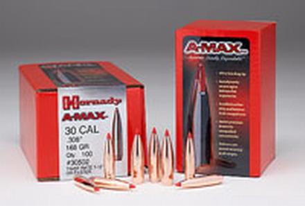 30 Cal  308 168 GR A-Max