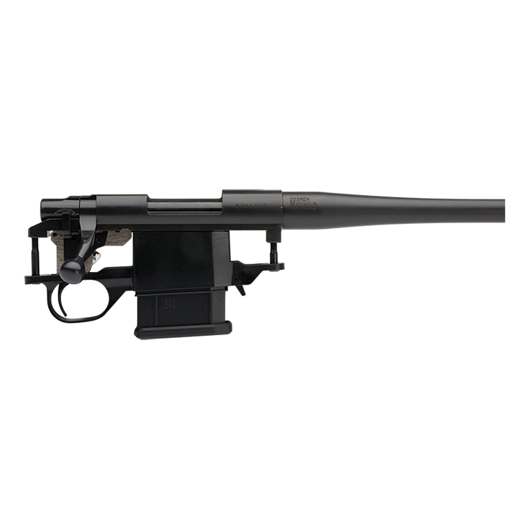 Mini Action Sporter Light Blued Black Hogue Stock  204 Ruger