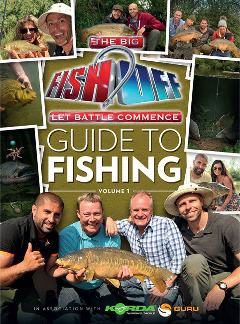 Korda big fish off book glasgow angling centre for Big fish book