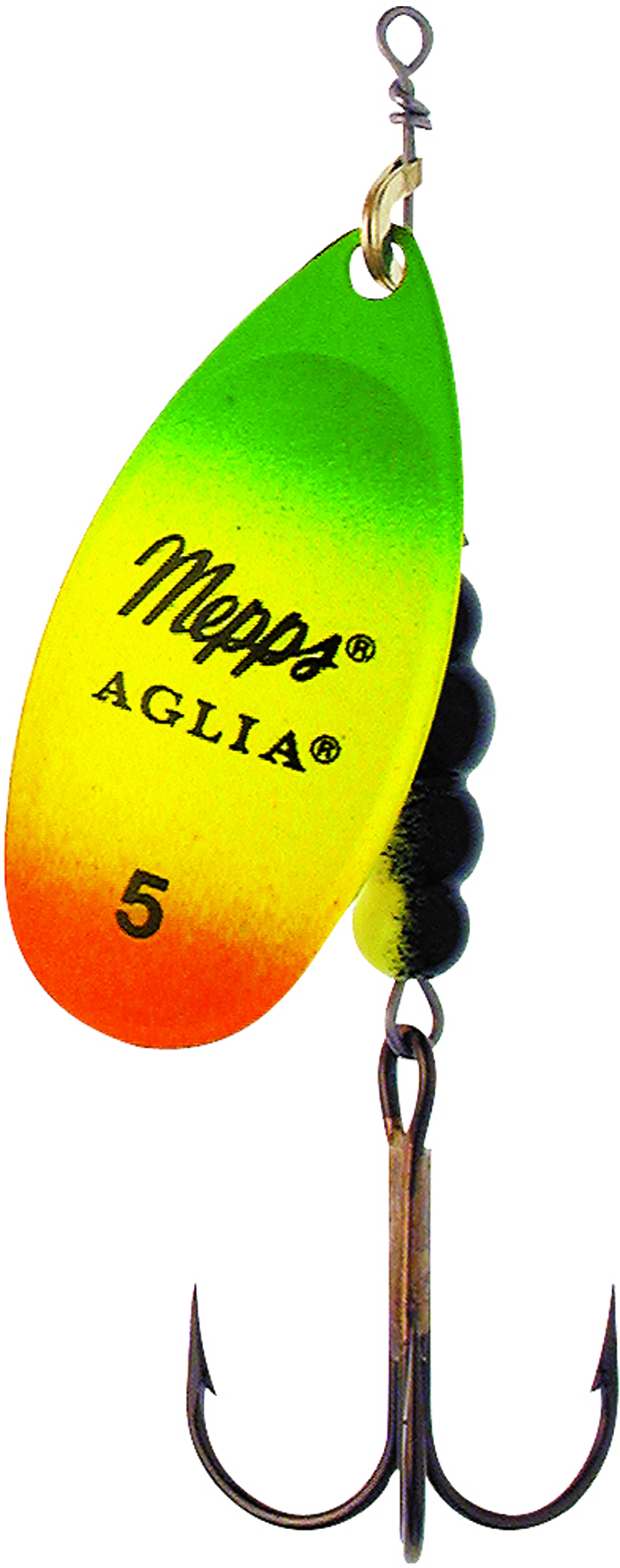 Mepps aglia hot tiger lures glasgow angling centre for Mepps fishing lures