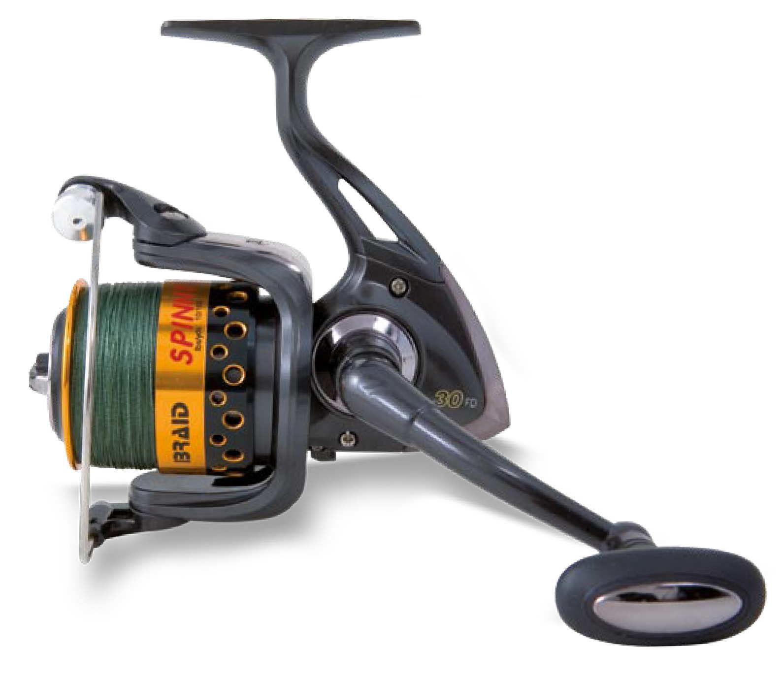 Lineaeffe braid spin reel glasgow angling centre for How to reel in a fish