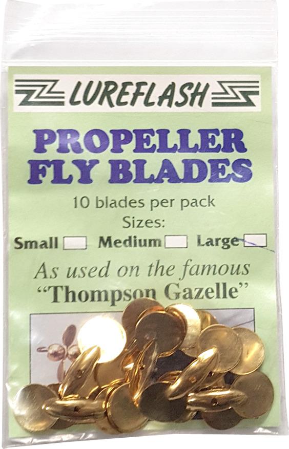 lureflash propeller fly blades medium