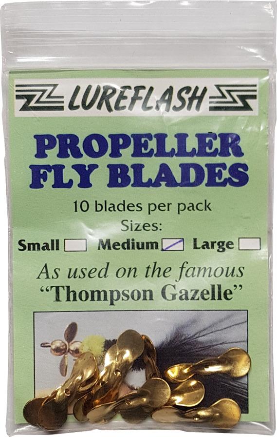 lureflash propeller fly blades large