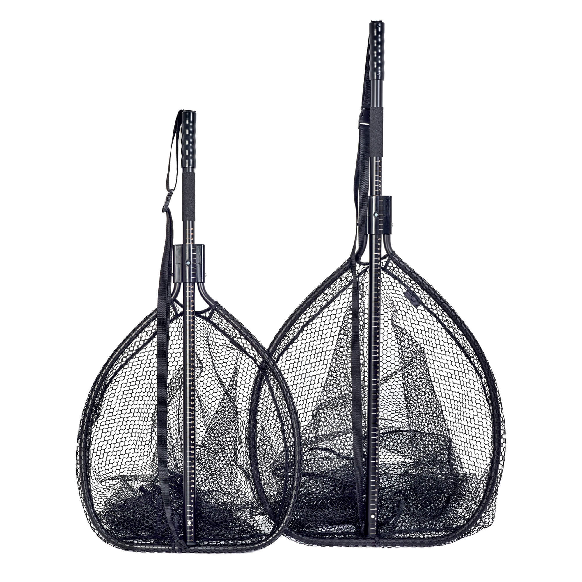 Mclean hd large rubber mesh weigh nets glasgow angling for Rubber fishing net