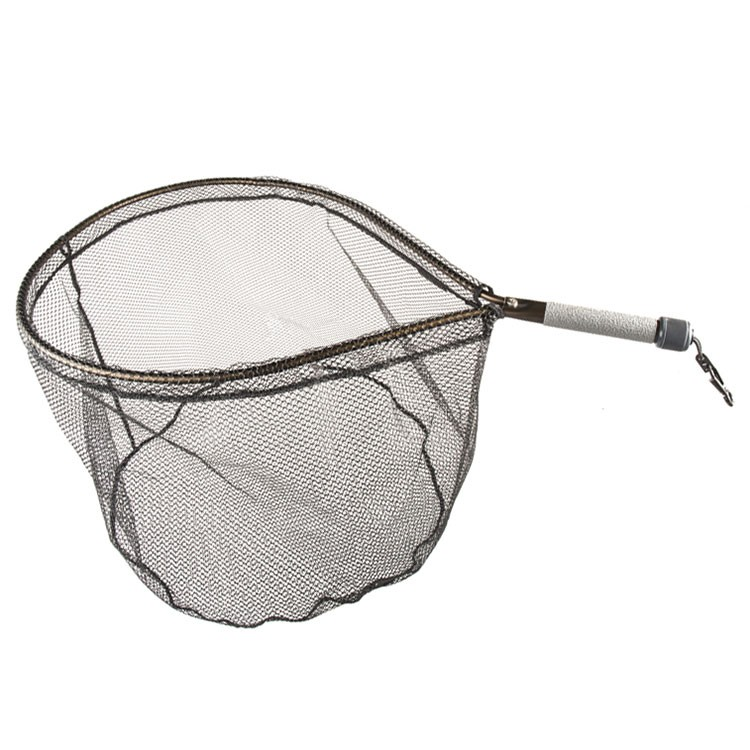 Mclean short handle weigh net rubber mesh glasgow for Rubber fishing net