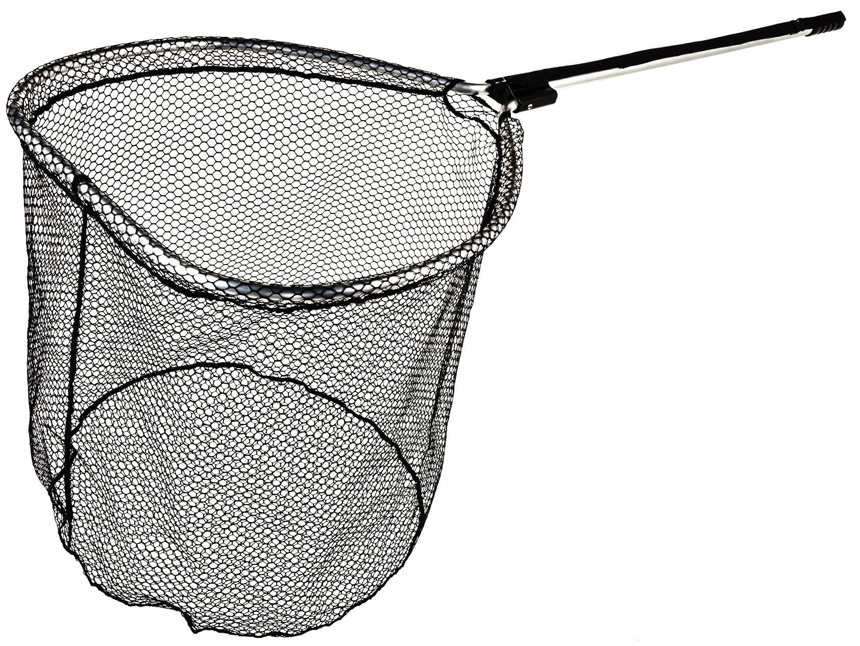 Mclean silver series seatrout specimen rubber net for Rubber fishing net