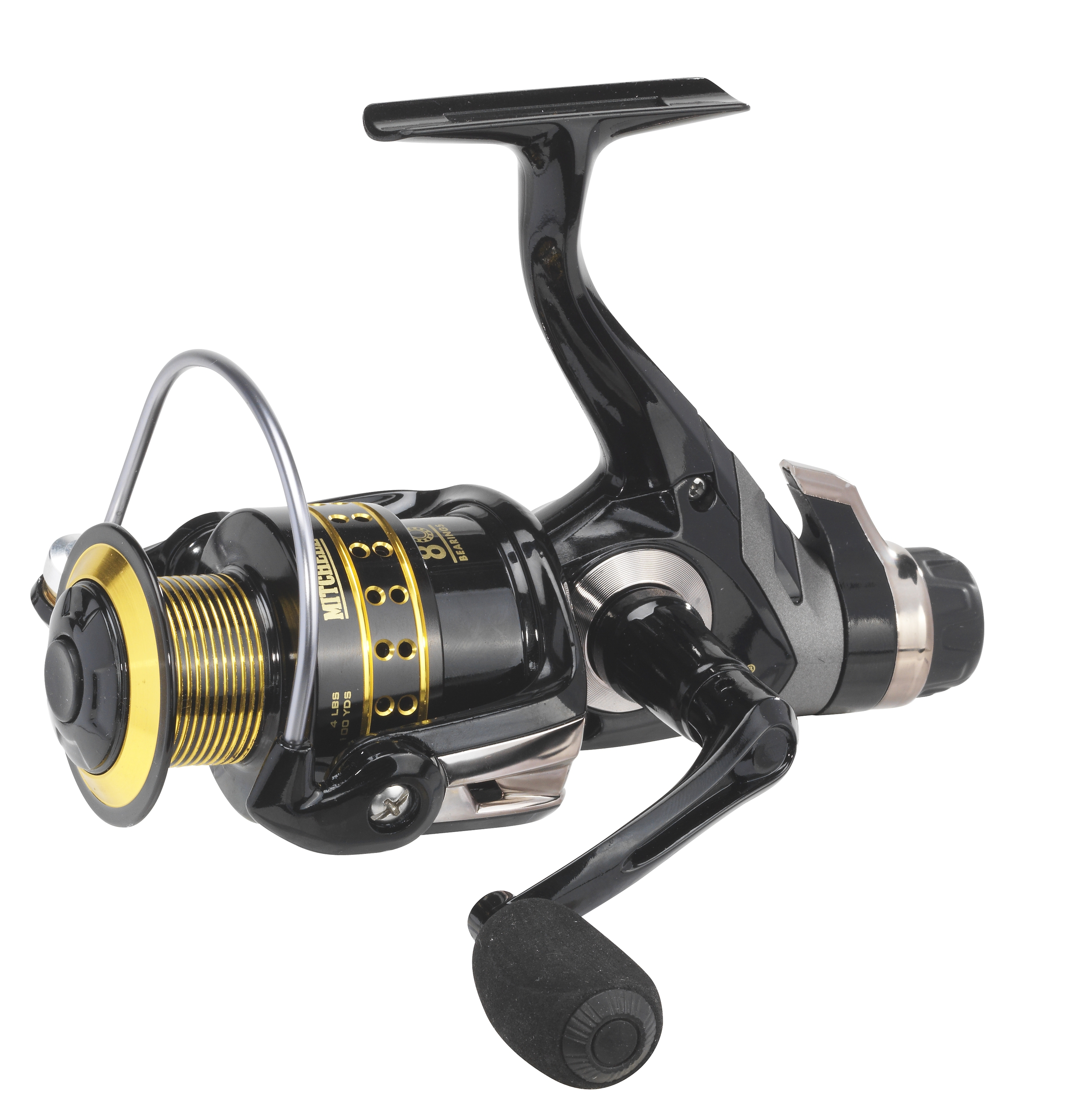 Mitchell avocet gold iv rear drag reel glasgow angling for Mitchell fishing reels