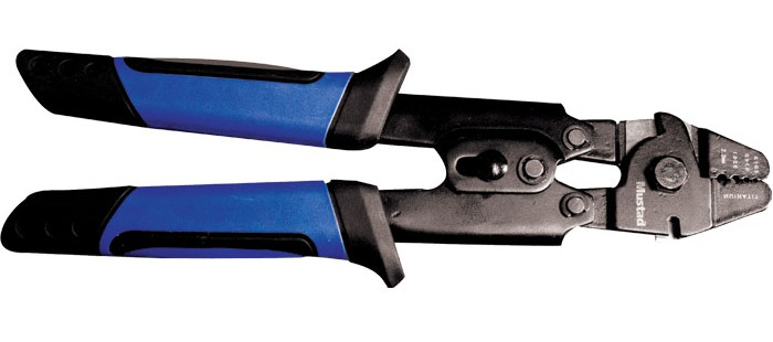 Mustad heavy duty crimping tool glasgow angling centre for Fishing crimping tool