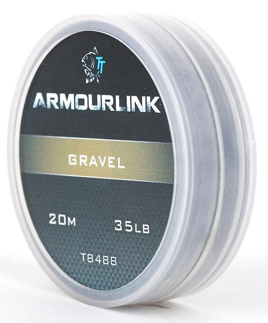 Nash Armourlink Heavy Supple Braid Gravel Brown 20m Free Post